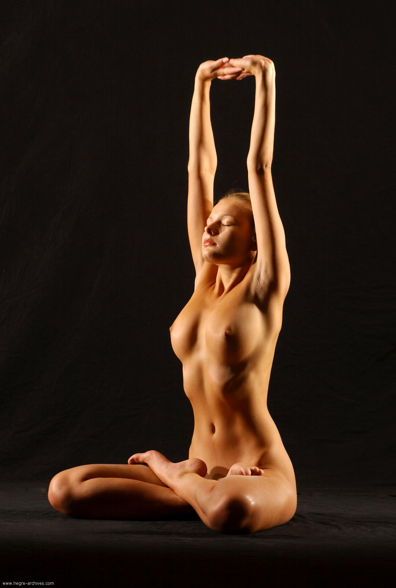 Yoga nude  naked yoga